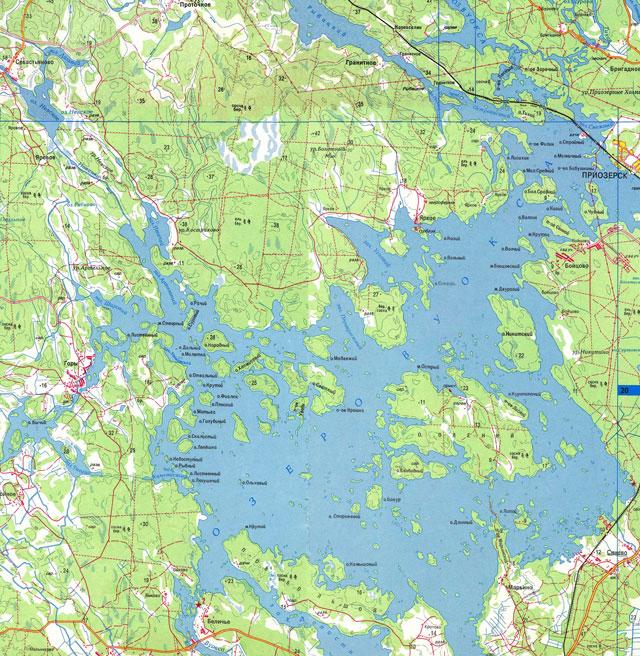 лодочные станции на вуоксе на карте
